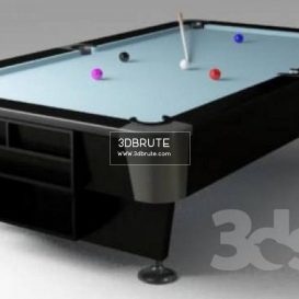 Billiard table download 3dmodel free 3dbrute 21