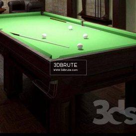 Billiard download 3dmodel free 3dbrute 23