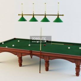 Billiard table download 3dmodel free 3dbrute 9