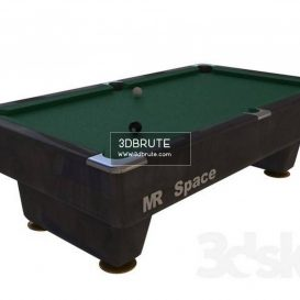Billiard table download 3dmodel free 3dbrute 10