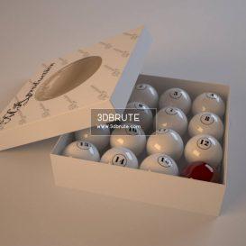 Billiard balls download 3dmodel free 3dbrute 11