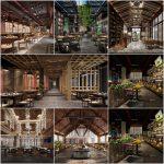 Restaurant - Diner 3dsmax