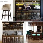 Sell Bar chair  set 2018 3dmodel