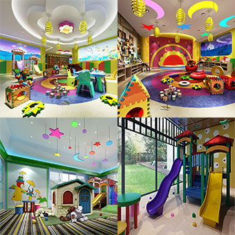 Sell Kindergarten Childroom set 3dbrute