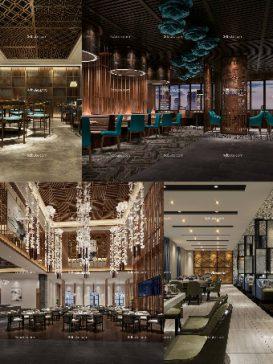 Sell Restaurant & diner 3dsmax 3dbrute