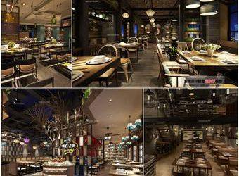 Sell-Restaurant--fast-food--buffet-3dsmax 3dbrute