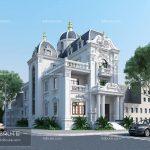 Villa Classic 3dsmax download free Exterior