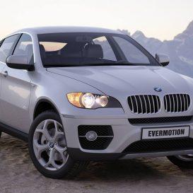 Car  BMW X6 1 3dsmax 3dmodel download free