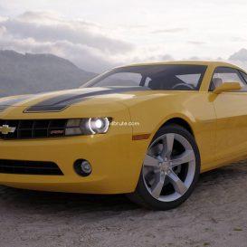 Car  CHEVROLET CAMARO 5 3dsmax 3dmodel download free