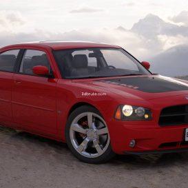 Car  Dodge Charger 6 3dsmax 3dmodel download free
