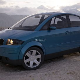 Car  audia 2 10 3dsmax 3dmodel download free