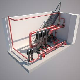 Duct 3dmodel  download free  3