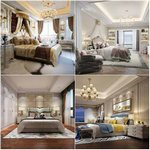 Sell Bedroom Classic style Br 3dbrute
