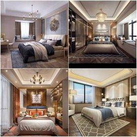 sell Bedroom Postmodern style Br 3dbrute 3dsmax
