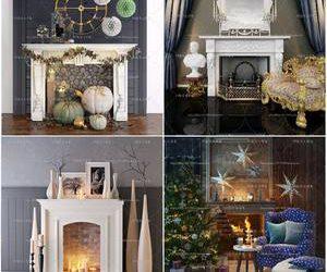 Sell Fireplace set 3dmodel