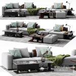 Molteni & C ALBERT Sofa