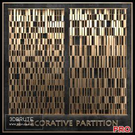 Decorative partition 3dmodel