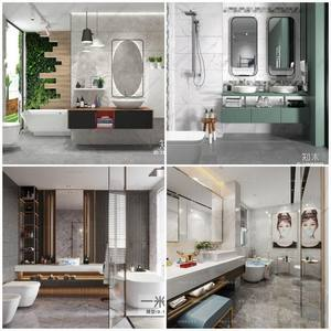 Sell Bath room 2019 3d model