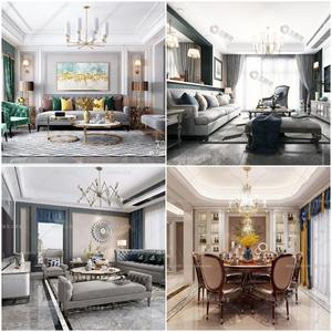 Sell Living room neo classic 2019 3dmodel