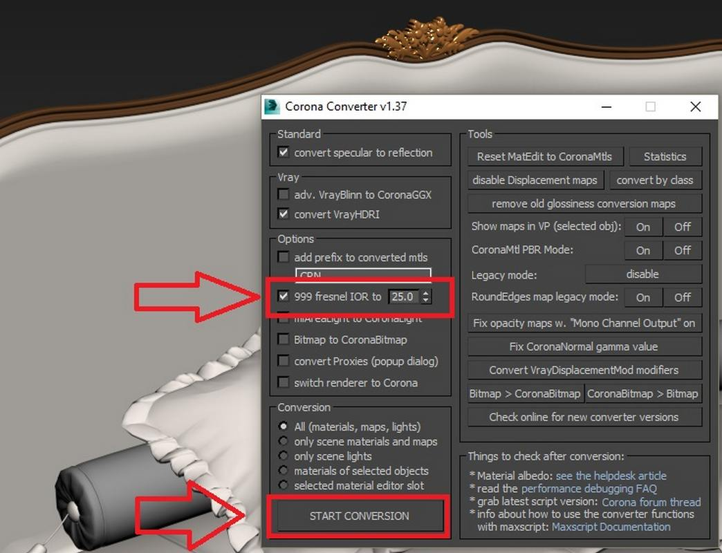 Vray to Corona Converter Script  How to convert corona and