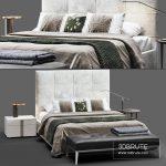 askona_elisa_01 bed 3d model