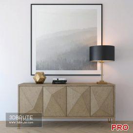 cabinet-highland 3d model