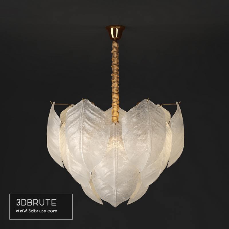 FOLIAGE Ceiling light - Download -3d Models - 3dbrute