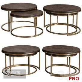 large-round-side-table 3dmodel