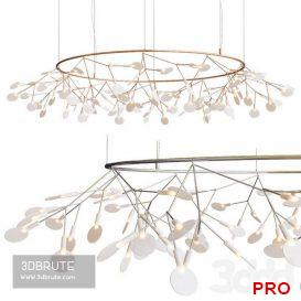 Moooi Heracleum the Big O LED Chandelier Ceiling light