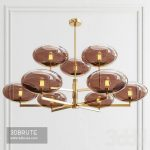 Sciolari 70's Chandelier Ceiling light
