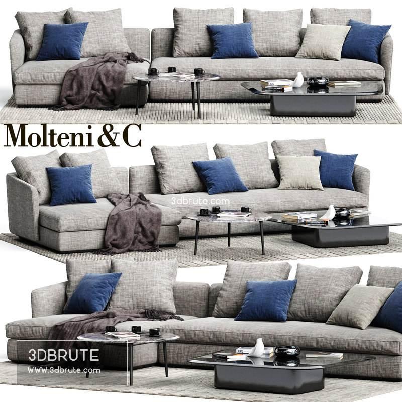 Molteni&C SLOANE Sofa 02