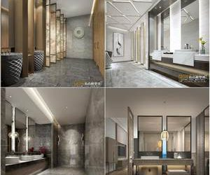 Sell  public restroom 3dmodel 2019 download  3dbrute