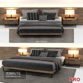 Horizon Bed 3d model 3dsmax
