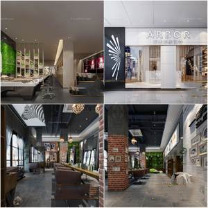 Sell  hair salon 3dmodel 2019 download  3dbrute