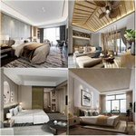 Sell  bedroom of the hotel 3dmodel 2019 download  3dbrute