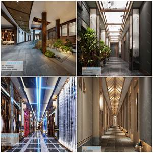 Elevator Lobby & Aisle  3d66 2019 download  3dbrute 3d66 2019