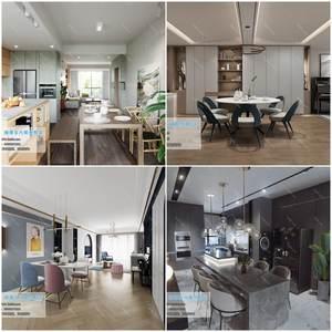 Dining Room & Kitchen 3d66 2019 download  3dbrute 3d66 2019