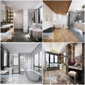 Toilet & Bathroom   3d66 2019 download  3dbrute 3d66 2019
