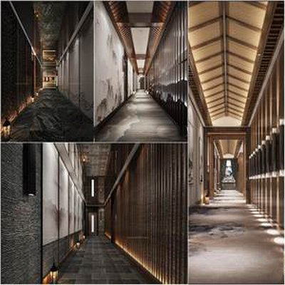 Sell  corridor elevator room 3dmodel 2019 download  3dbrute