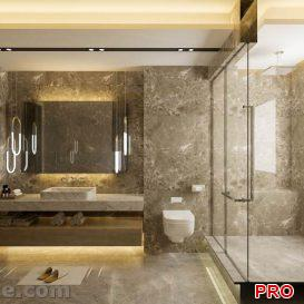 Master Bathroom 3d model