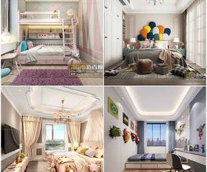 Sell Bedroom Children's room 2019 3dmodel
