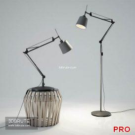 BoConcept Berlin Lamp 15 3d model Download 3dbrute