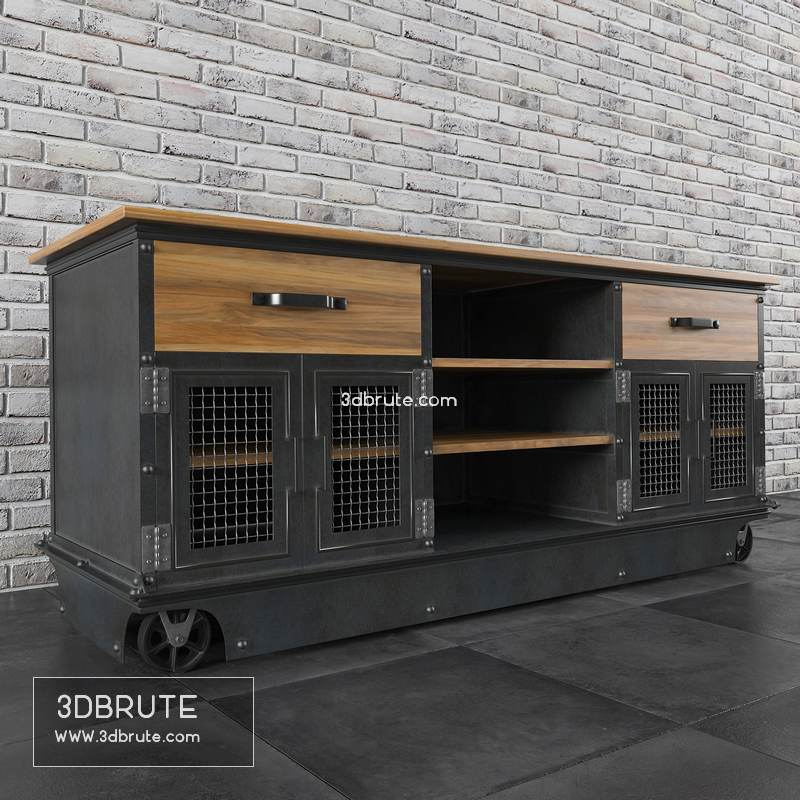 Boxcar Ellis Console E53 Download 3d Models Free 3dbrute