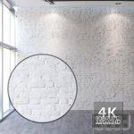 brick 3dmodel white