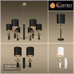 Castro Lighting Collection CHICAGO 28 3d model Download 3dbrute
