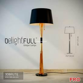 Delightfull Miles Standing Lamp 13 3d model Download 3dbrute
