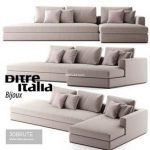 Ditre Italia Bijoux sofa 65 3d model Download 3dbrute