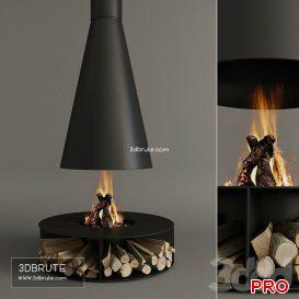 Fireplace_Modern 66 3d model Download 3dbrute