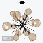 Gem Starburst Chandelier Ceiling light