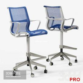 Herman Miller Setu Stool chair 3dmodel